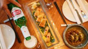 How to make Ki's torched salmon makimono