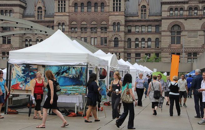 TorontoOutdoorArtExhibition