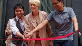 Designers cut ribbon for Yorkville's newest boutique, Eleven
