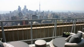 Panorama's rooftop terrace readies for fire in the sky
