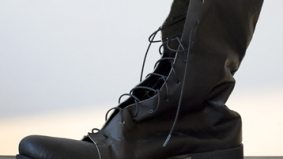 Kangaroo leather boots designed for summer heat