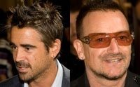 Colin Farrell and Bono manage the impossible: a secret TIFF shindig