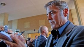 George Clooney makes his last TIFF-related public appearance in Toronto