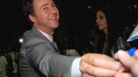 Ed Norton's fans rival Oprah's in the insanity category