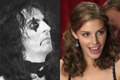 Alice Cooper gives marital advice to Jessica Paré: Make sure you continue to flirt with each other
