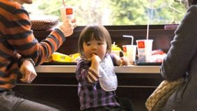 Moms encourage kids to eat McDonald's, the caveman diet, a Canadian-themed bar grows in Brooklyn
