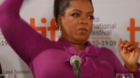 The Oprah effect: The press conference-turned-talk show taping