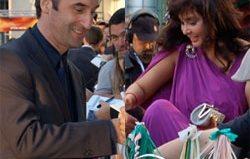 Rickshaws and Lisa Ray at Cooking with Stella premiere