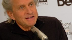 Michael Douglas watches sports more than movies; is not a fan of 'MyFace' or Twitter