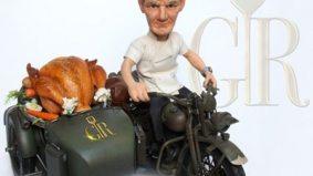 Gordon Ramsay completes transformation into a cartoon character