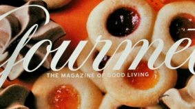 Gourmet magazine has balled its last melon