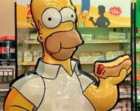 The Simpsons eat right in Britain, the best brown-bag lunches, mini kiwis hit the Brick Works