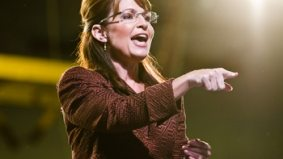 Sarah Palin invokes God while defending meat eating, Timothy's World Coffee sold, the $1-million cow