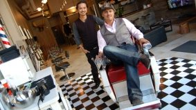 Macho manis and powerful pedis: Mankind men's salon opens