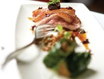 Just Ducky: chef Jason Inniss shows us how to make Amuse-Bouche's honey-glazed roasted duck