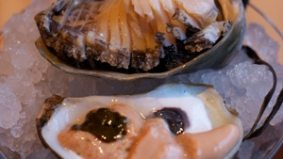 Starfish restaurant is serving rare species of abalone