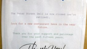 Peter Street Deli closes after 15 years in the entertainment district