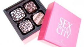 Sex and the City chocolate for the fabulously solitary