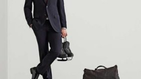 Canadian figure skater Patrick Chan makes modelling debut