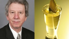 Tory cabinet minister apologizes for bawling out airport officials who refused to reveal the fate of his tequila