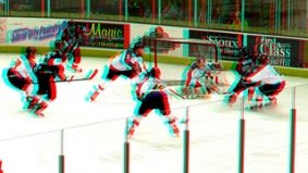First live 3-D hockey game airs tomorrow