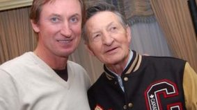Wayne Gretzky goes back to his pre-Olympic work: promoting wines, curling