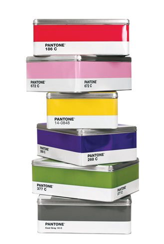 Everyone's seen the Pantone mugs; the tins, imported from Italy, are new to Toronto this month. $24.50 each. SoHo Art and Custom Framing, 77 Roncesvalles Ave., 416‑531-2047.