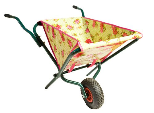 A lightweight wheelbarrow that folds up to save space. $135. Châtelet, 717 Queen St. W., 416-603-2278, chatelethome.com.