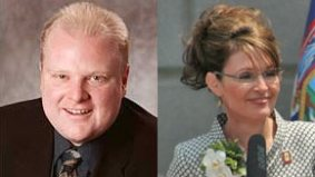 Is Rob Ford Toronto's Sarah Palin? A five-point comparison