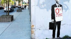 Banksy's art disappears as quickly as it appeared
