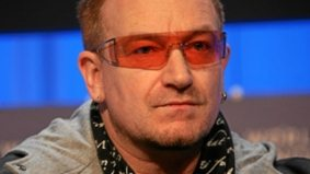 Bono and Bob Geldof bring their bleeding hearts (and headline-writing skills) to the Globe