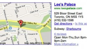 """Lee's Palace has wrong Google Maps address because it allegedly wants only """"cool people"""" there"""