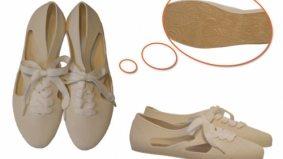 Slippery sole: bathing shoes stylish enough for the sidewalk