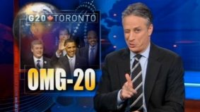 Five things we learned from Jon Stewart's coverage of G20 Toronto