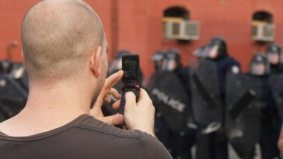 The postmodern protest: for all the cops and protesters, cameras are the most ubiquitous things in Toronto this G20 weekend