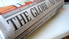 Globe and Mail to relaunch as a magazine-newspaper Frankenstein; Splice comparisons inevitable