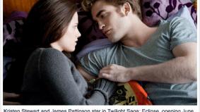 Tee hee: Toronto Star says Twilight stars James Pattinson
