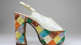 Sky-high heels are the official footwear of the recession