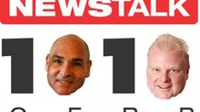 CFRB indulges our fantasies by pretending there are only two candidates for mayor