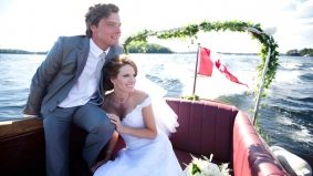 Monika Schnarre, Canada's first supermodel, ties the knot. See the photos