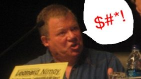 William Shatner wants you to know he swears in front of children