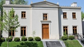 House of the Week: $5.9 million for Greek Revival villa on Roycroft Park
