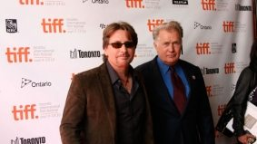 TIFF PHOTO GALLERY: Emilio Estevez and his dad, Martin Sheen, at the premiere of The Way