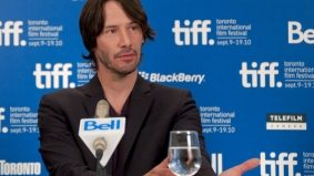 Keanu Reeves bears witness to TIFF's most awkward moment yet