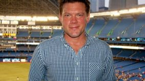 Joys of summer: hanging out with chef Tyler Florence at the Jays game