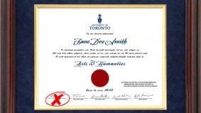 283 University of Toronto students' diplomas recalled due to typo