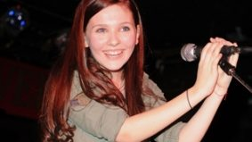 Abigail Breslin, 14, performs at the Horseshoe