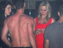 Spotted! Belinda Stronach partying with a shirtless young man at Maison