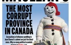 "Rogers apologizes for Maclean's ""Corrupt Quebec"" issue"