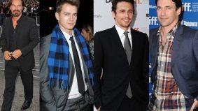 TIFF Fashion Poll: James Franco, Jon Hamm, Josh Brolin and Hayden Christensen